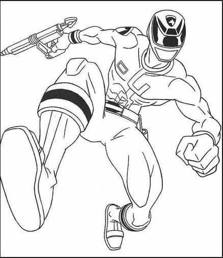 Mẫu tranh tô màu hình siêu anh hùng Ben cho bé