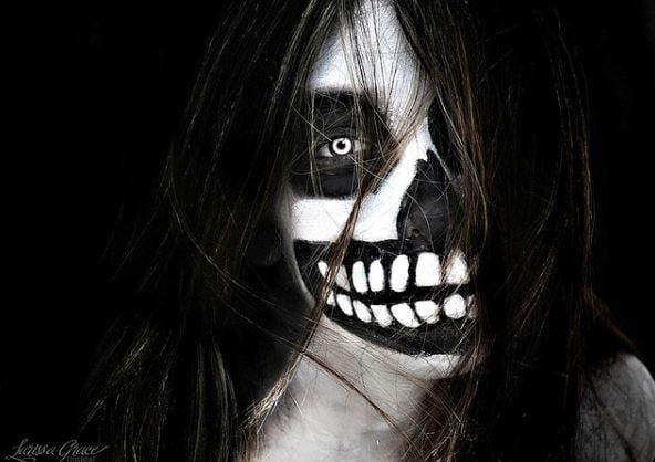 Ảnh ma đáng sợ trong lễ hội Halloween