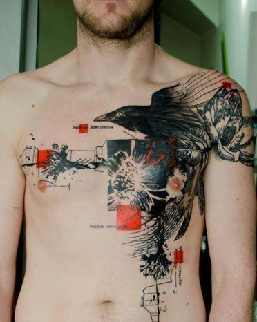 Bộ sưu tập những mẫu hình xăm ở ngực cực đẹp dành cho nam và nữ 4