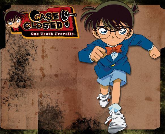 Hình ảnh thám tử Conan dùng làm ảnh nền cho máy tính, điện thoại