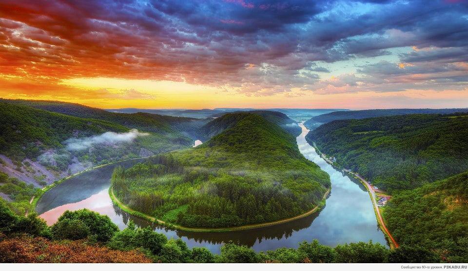 雄伟的自然景观的图片