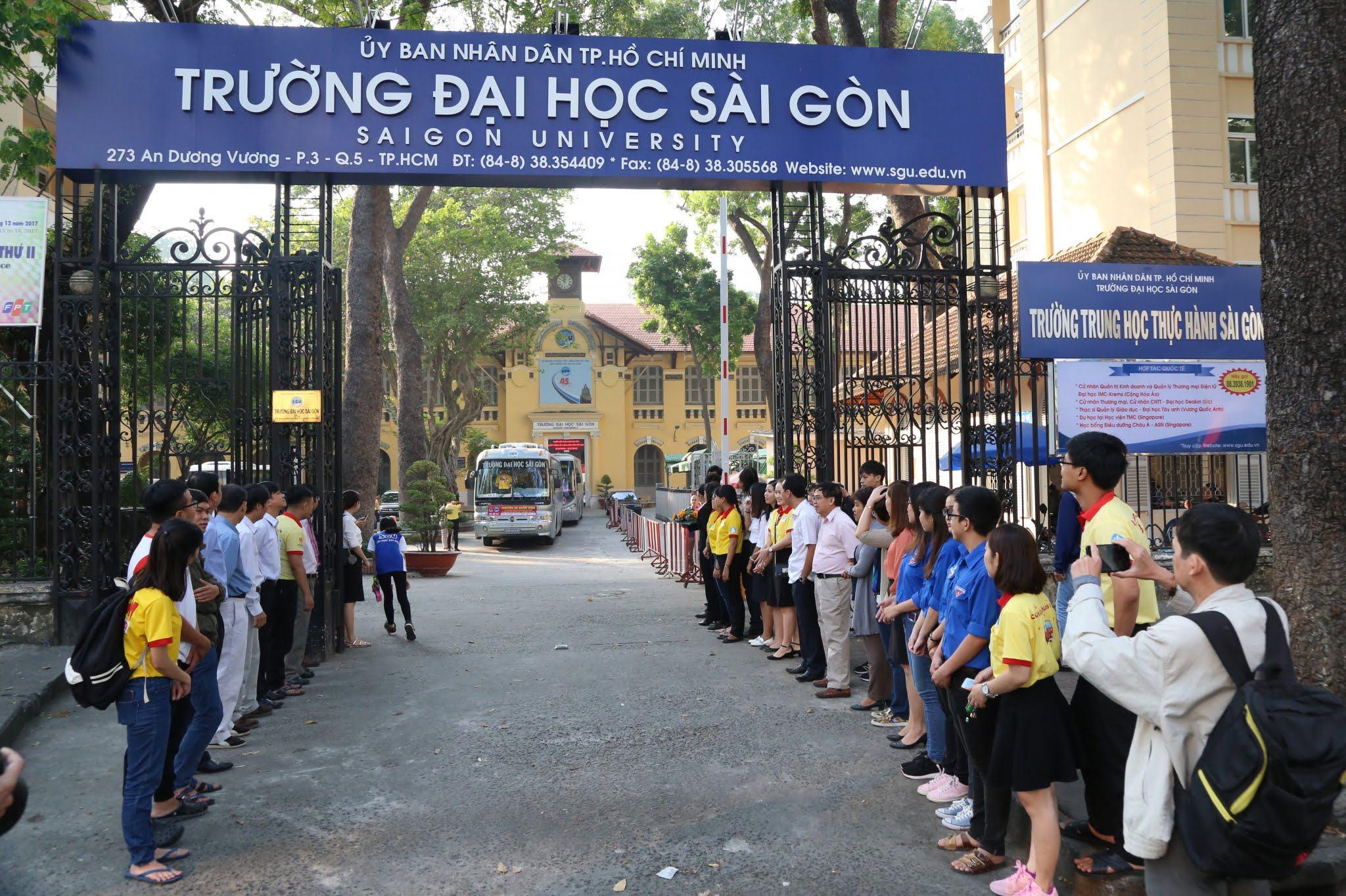 Trường Đại học Sài Gòn thành phố Hồ Chí Minh