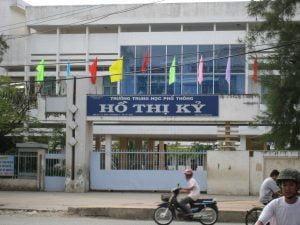HÌnh ảnh trường THPT Hồ Thị Kỷ