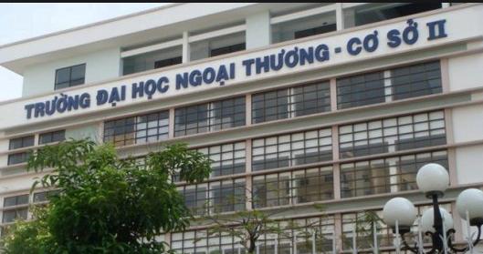 Đại học ngoại thương cơ sở II :