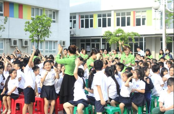Top 10 trường tiểu học Quốc tế chất lượng nhất Hà Nội 9
