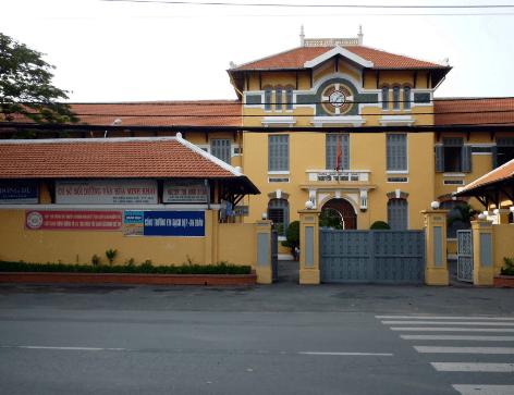 Trường THPT Nguyễn Thị Minh Khai