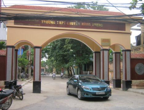 Giới thiệu Trường THPT chuyên Hùng Vương