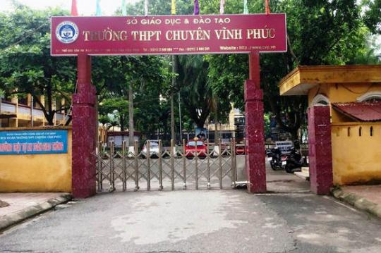 Trường THPT chuyên Vĩnh Phúc