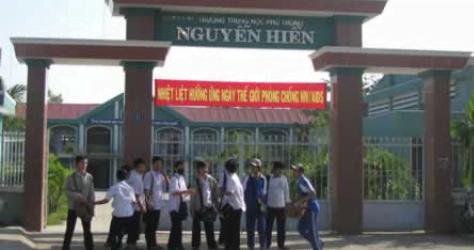 Trường Trung học phổ thông Nguyễn Hiền