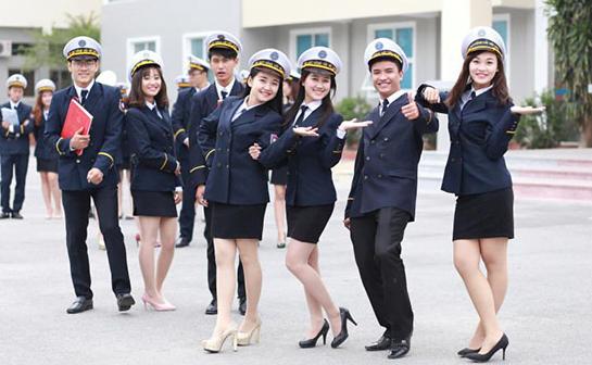 Đồng phục của trường ĐH Hàng Hải Việt Nam