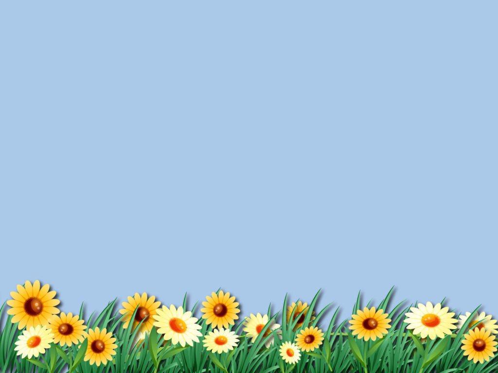 Hình nền slide thuyết trình đẹp - hoa hướng dương