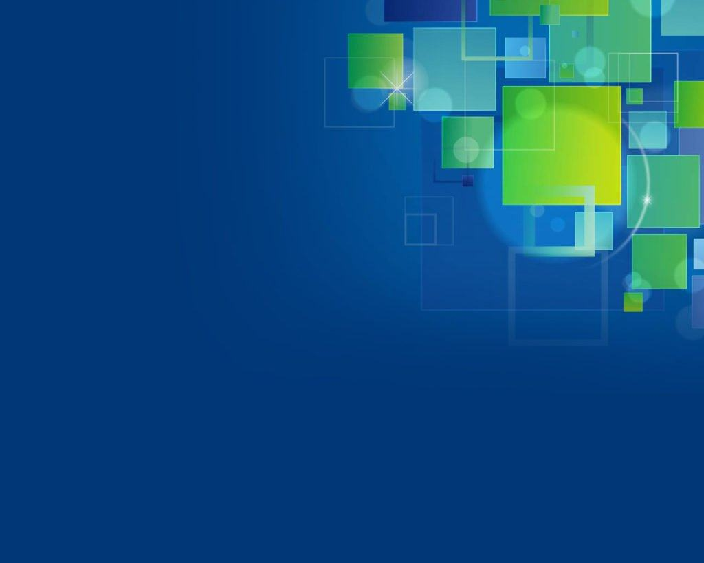 Hình nền slide thuyết trình đẹp - xanh dương và hiệu ứng góc trên bên phải