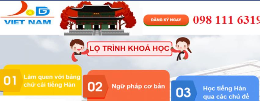 Trung tâm tiếng hàn Viet - Edu