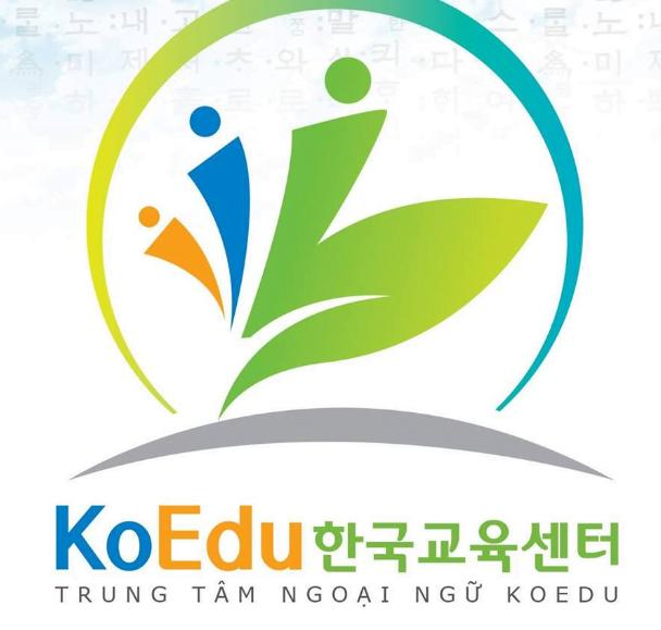 Trung tâm tiếng Hàn KoEdu