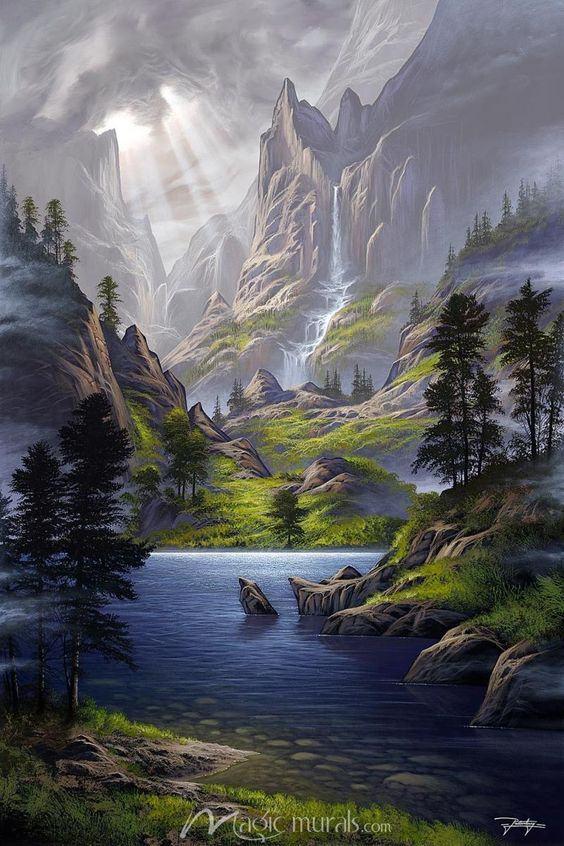 Tranh phong cảnh treo tường thiên nhiên đẹp nhất