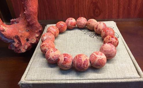 Vòng tay đá san hô đỏ