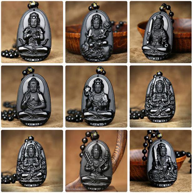 Vòng cổ phong thủy mặt Phật Bản Mệnh
