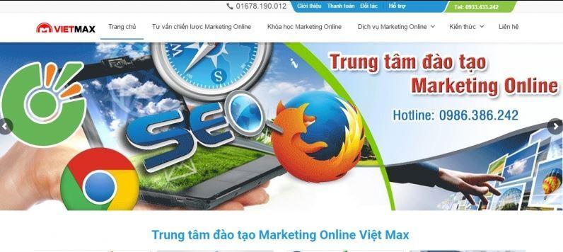 Trung tâm đào tạo marketing online Việt Max