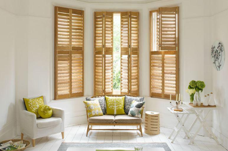 Rèm gỗ chắn nắng phù hợp với không gian nào?