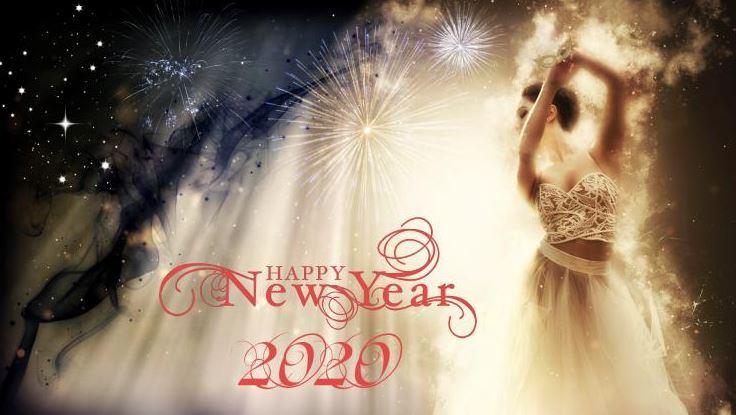Tải ảnh Happy New Year 2020 đẹp