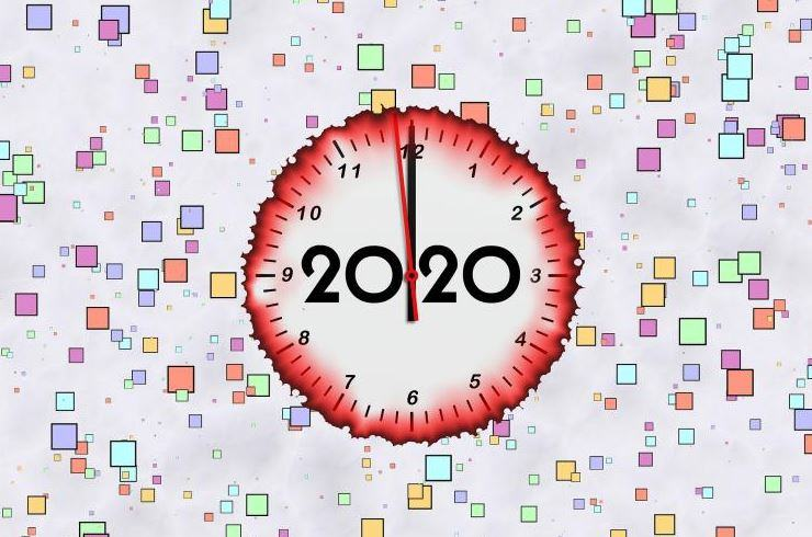 ảnh Happy New Year 2020 đẹp