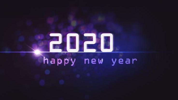 Hình Happy New Year 2020 đẹp
