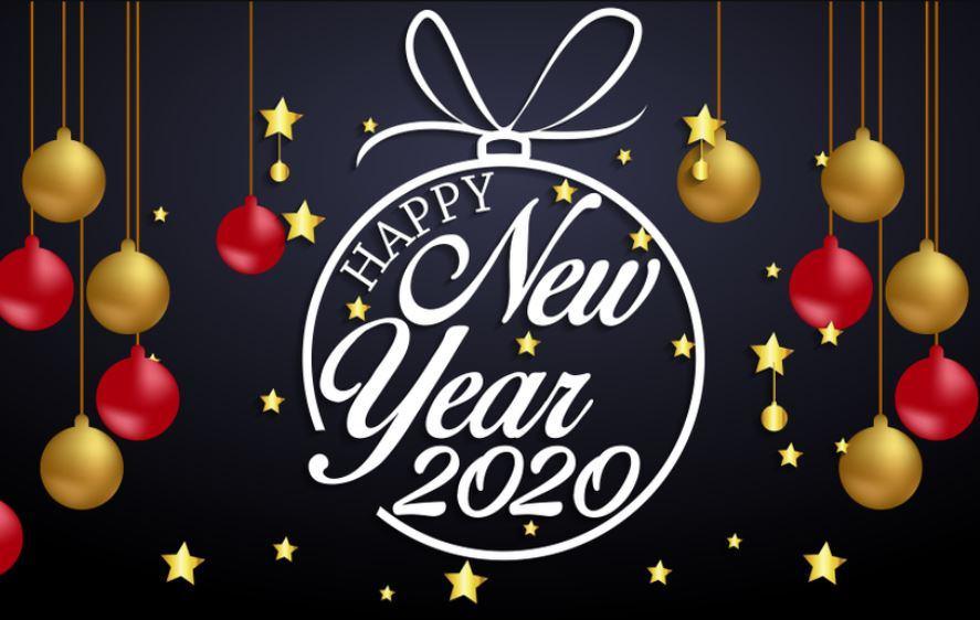 Hình nền Happy New Year 2020 đẹp nhất