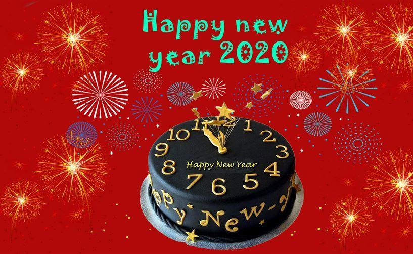 Hình ảnh nền Happy New Year 2020 đẹp nhất