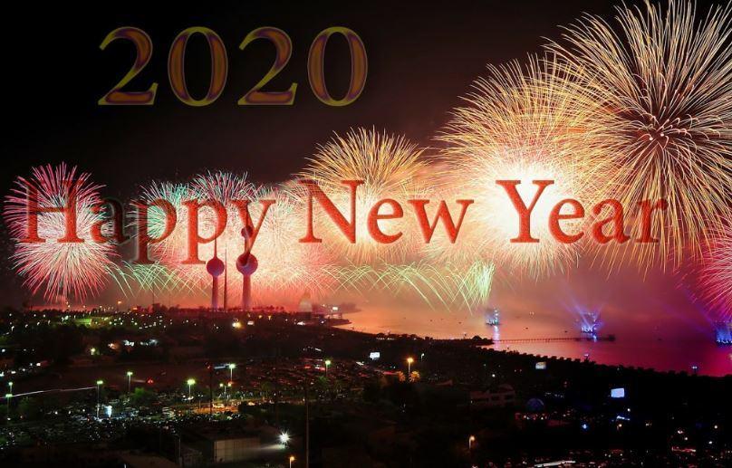 Bộ ảnh nền Happy New Year 2020 đẹp nhất