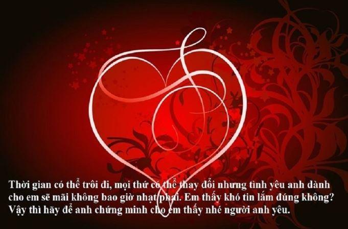 Lời chúc valentine 14-2 bằng tiếng Anh