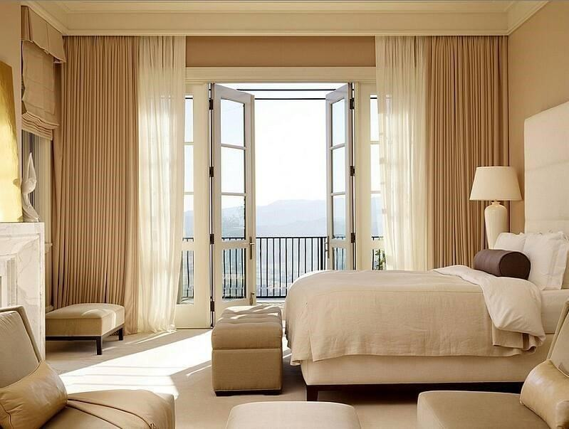 Màu sắc rèm nên hài hòa với các đồ nội thất khác trong phòng
