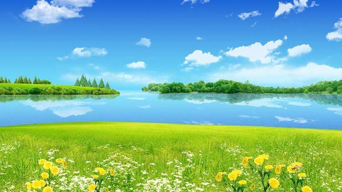 Ảnh bìa đẹp về phong cảnh thiên nhiên đơn giản