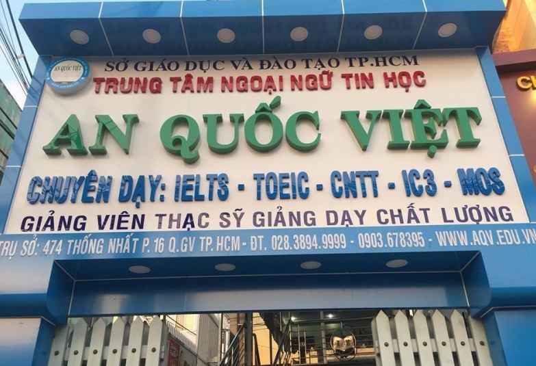 Trung tâm đào tạo tin học An Quốc Việt